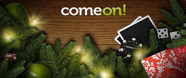 Sätt in 100kr få 500kr att spela för + 1KG julgodis från Comeon.